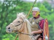 5-7 roman soldier on horse